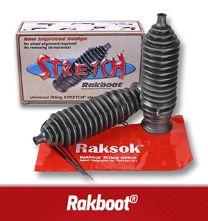 steering rack boot kit