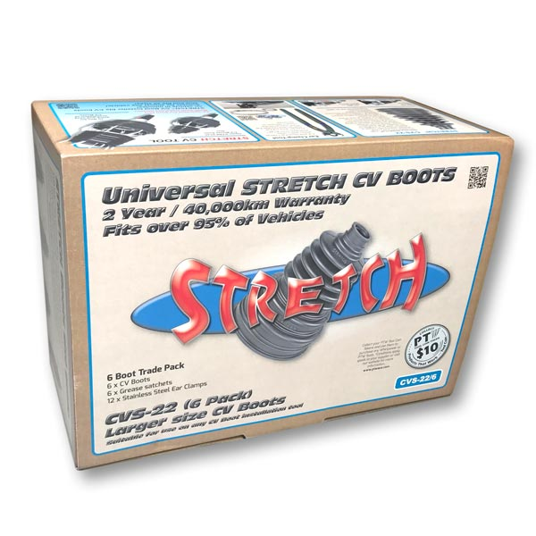 CVS-22 STRETCH™ CV Boot Kit – (6 Pack)