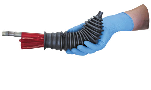 universal steering rack boot