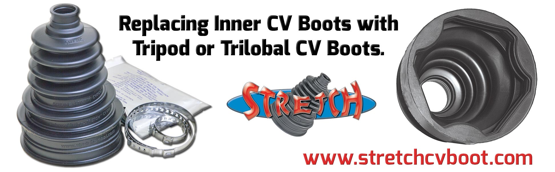 Replacing Tripod / Trilobal Inner CV Boots With STRETCH CV Boots